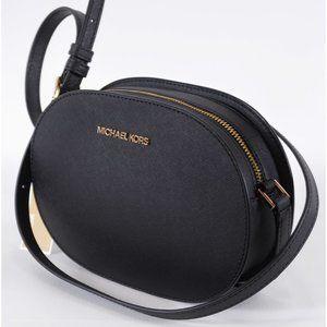 Michael Kors Saffiano Jet Set Travel Crossbody Bag